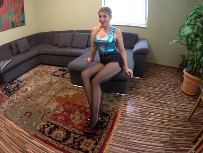 Video Thumbnail SPERMA-NYLONS - XXL-CUMSHOT von XXL-SCHWANZ auf meine LIEBLINGS-STRUMPFHOSE
