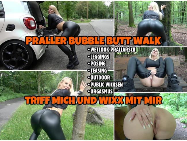 Video Thumbnail Praller BUBBLE BUTT Walk | Triff mich und WIXX mit mir im Wald