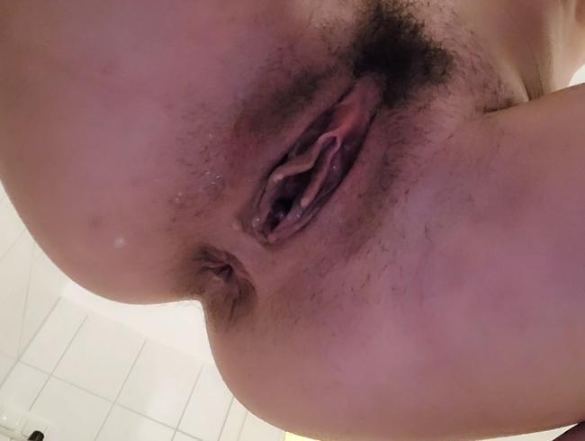 Video Thumbnail Sekt aus der unrasierten Pussy