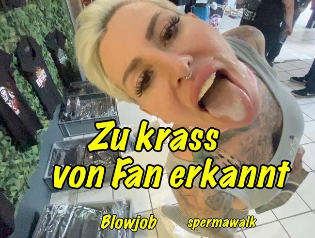 Video Thumbnail Zui krass von Fan erkannt....Blowjob ,Spermawalk