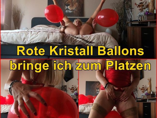 Video Thumbnail Rote Kristall Ballons bringe ich zum Platzen