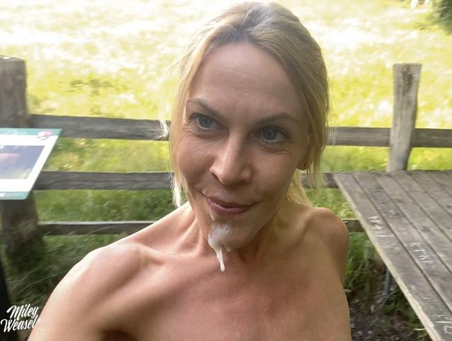 Miley-Weasel - Heftig!! Krasses Outdoorerlebnis...erwischt und in den Arsch gefickt !!