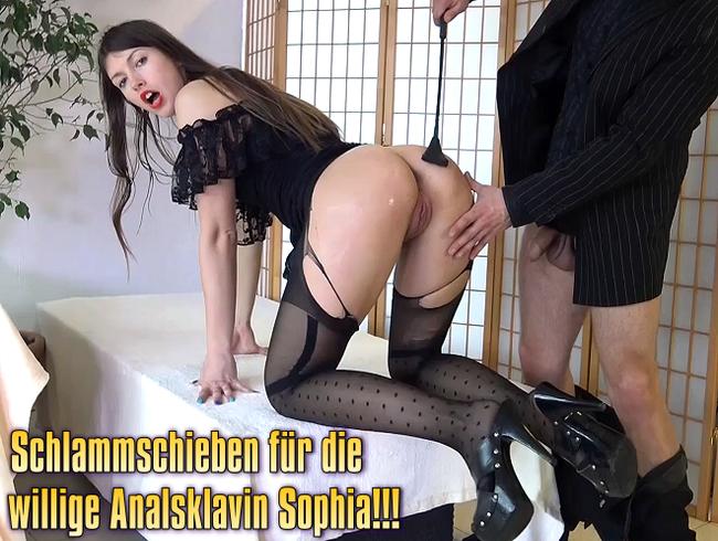 Video Thumbnail Schlammschieben für die willige Analsklavin Sophia!!!