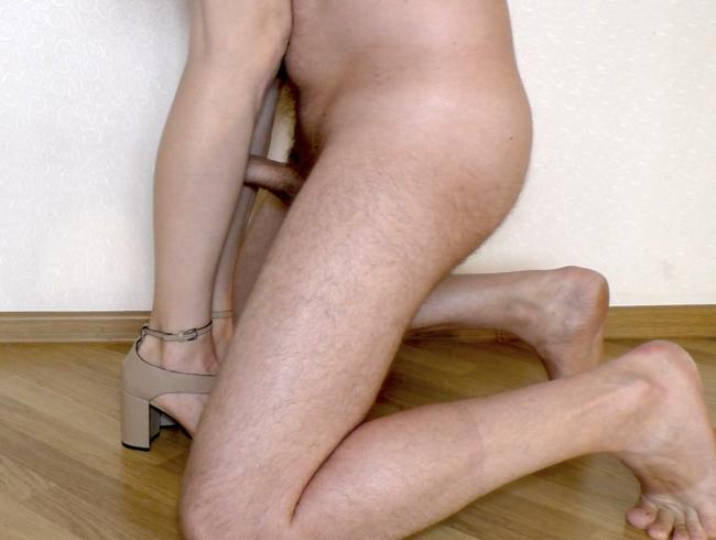 Video Thumbnail Legjob und Sperma auf Schuhen