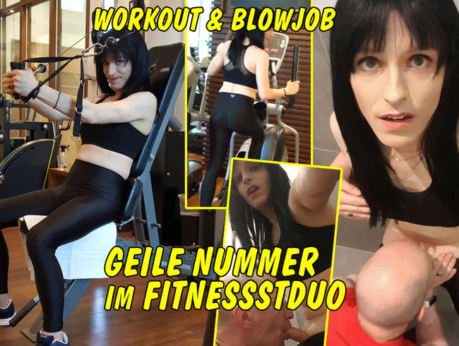 Video Thumbnail Blowjob nach Workout! Geile Nummer im Fitnessstudio!