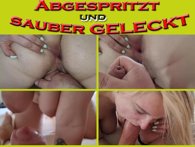 Video Thumbnail ABGESPRITZT und sauber GEBLASEN
