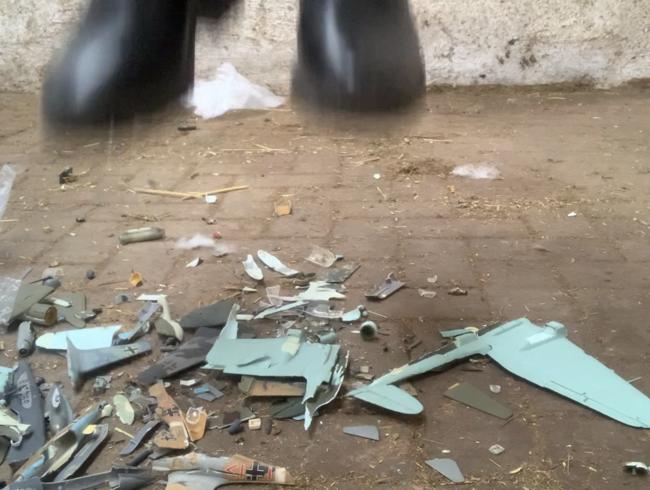 Video Thumbnail Userwunsch ! Crushing Modellflugzeuge