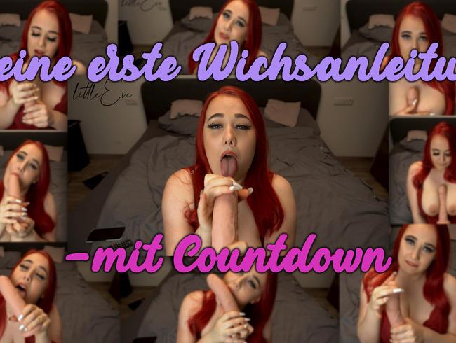 Video Thumbnail Meine erste Wichsanleitung - mit Countdown