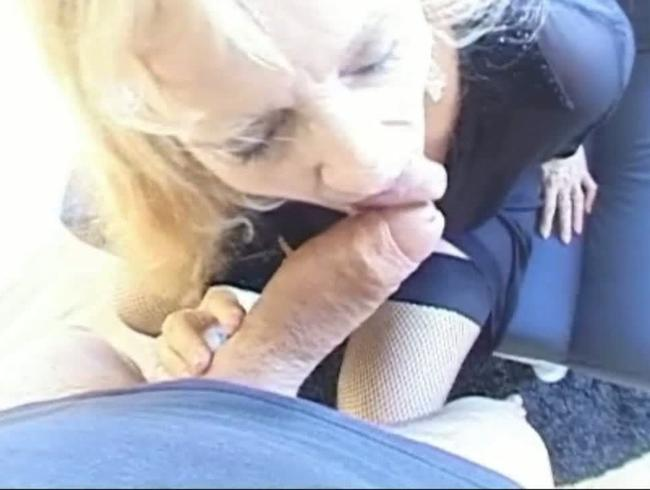 Video Thumbnail Oma voll ins Gesicht gewichst