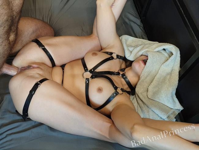 Video Thumbnail Sie liebt es, sich zu gewöhnen - KEINE gnaden für ihren Arsch - Harter Analsex - Creampie