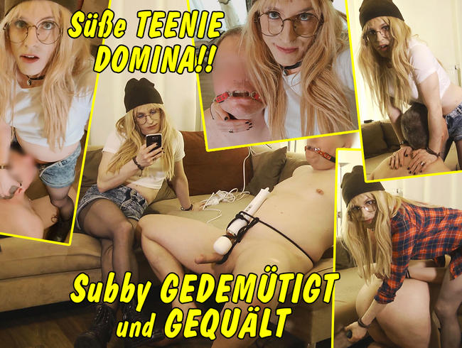 Video Thumbnail Geile Teenie Domina! Devoten Kerl gedemütigt und gequält!