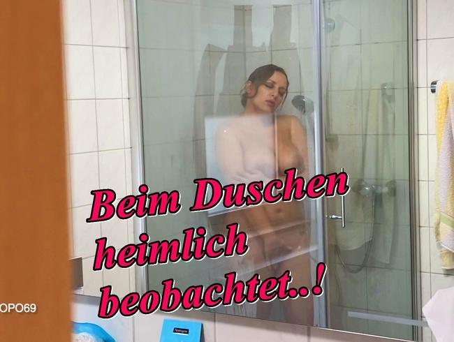Video Thumbnail Beim Duschen heimlich beobachtet..!