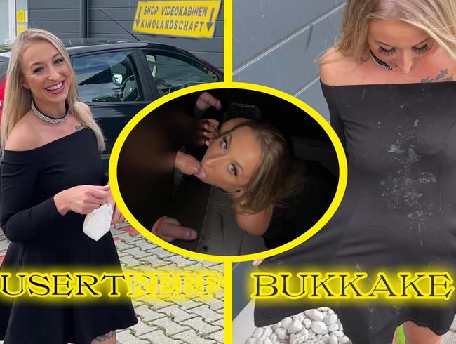 Video Thumbnail USERTREFF! BLASEBUKKAKE im PORNOKINO :)