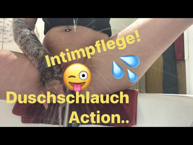 Video Thumbnail Intimpflege für Dich! Duschschlauch kommt zum Einsatz..