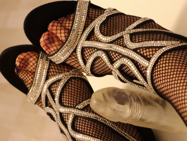 Video Thumbnail Sensual in Netzstrumpfhose und Heels