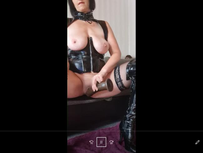 Video Thumbnail auf wunsch in lack.hab es mir erstmal geil gemacht