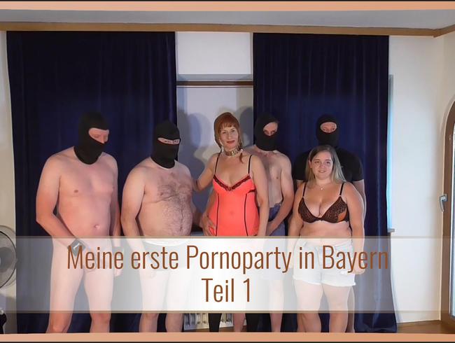 Video Thumbnail Meine erste Pornoparty in Bayern Teil 1
