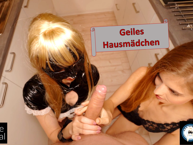 Video Thumbnail Was für ein geiles Hausmädchen!
