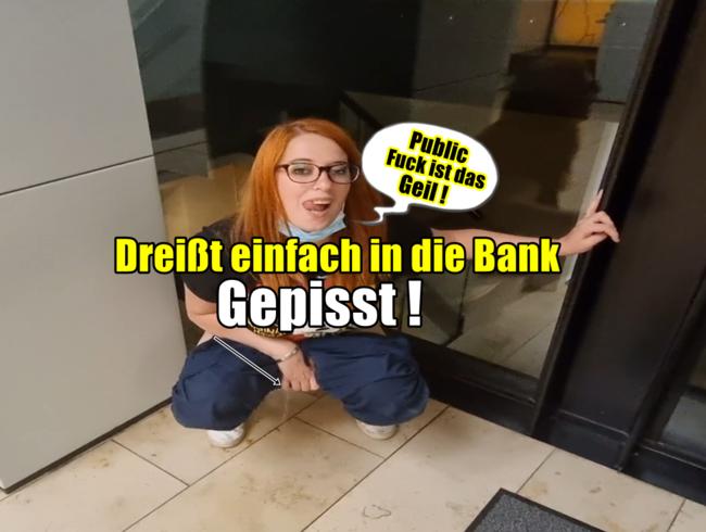 Video Thumbnail Public dreißt  in die Bank gepisst!