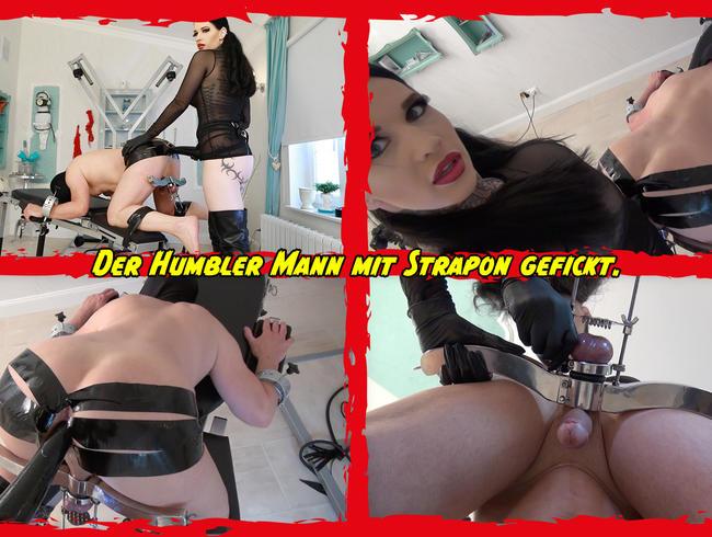 Video Thumbnail Der Humbler Mann mit Strapon gefickt.