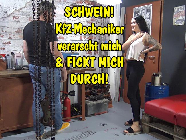 Video Thumbnail SCHWEIN! KfZ-Mechaniker verascht mich und fickt mich durch!