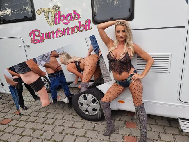 Video Thumbnail HobbyHuren BumsMobil! 7 Schwänze auf einen Streich!!