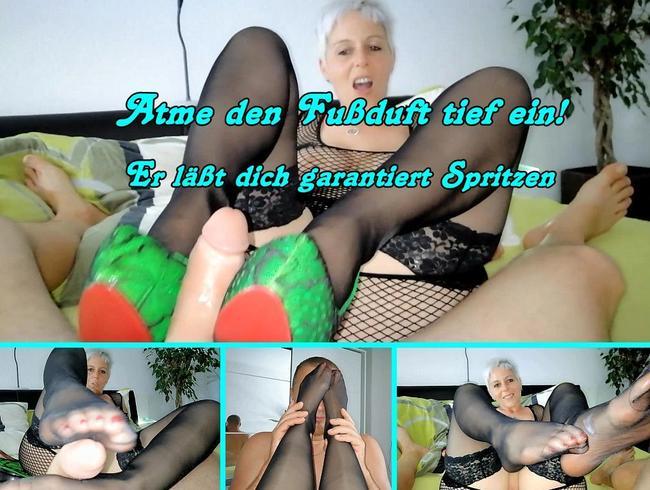 Video Thumbnail Meine Füße wollen dein Sperma!