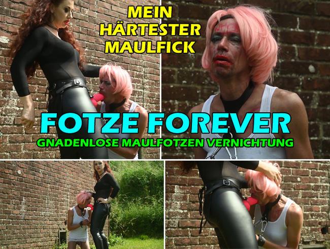 Video Thumbnail FOTZE FOREVER * MAULFOTZEN VERNICHTUNG