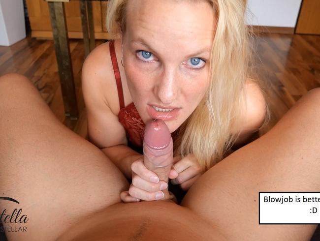 Video Thumbnail Ich blase dich bis du abspritzt!!! Mega Gesichtsbesamung!!!