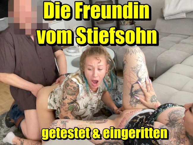 Video Thumbnail Die Freundin vom Stiefsohn ...getestet & eingeritten