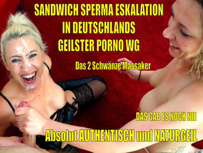 Video Thumbnail Deutschlands geilste Porno WG | Die totale Sandwich Sperma Eskalation! Einfach unvergesslich...!
