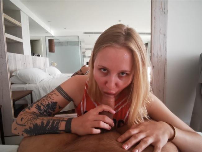 Video Thumbnail POV Cheerleader lutscht deinen Schwanz