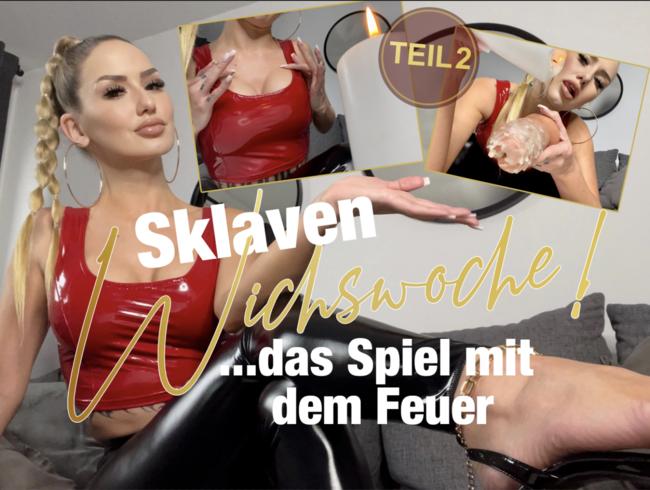 Video Thumbnail Sklaven-Wichswoche Teil 2! Das Spiel mit dem Feuer!