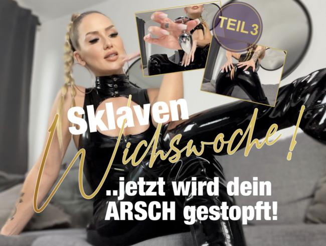 Video Thumbnail Sklaven-Wichswoche Teil 3! ...jetzt wird dein Arsch gestopft!