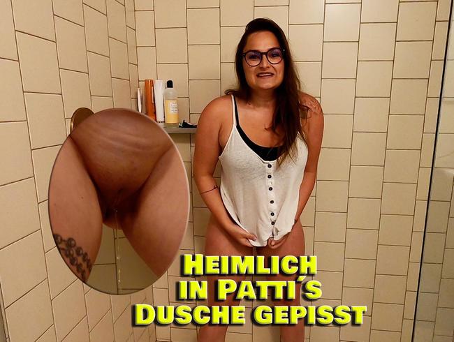 Video Thumbnail Heimlich in Pattis Dusche gepisst