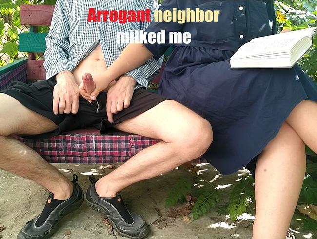 Video Thumbnail Arroganter Nachbar hat mich abgemolken