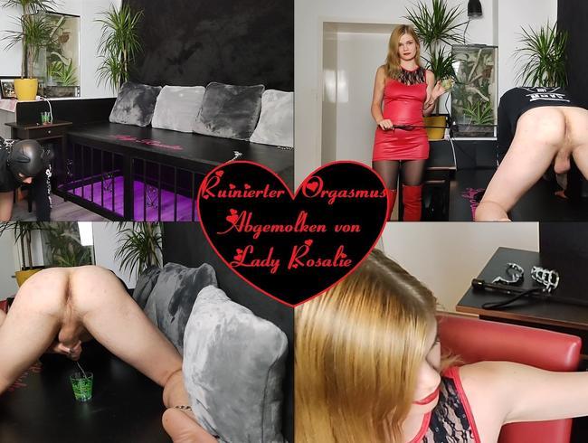 Video Thumbnail Ruinierter Orgasmus - Abgemolken von Lady Rosalie