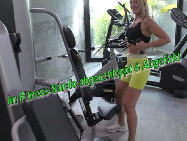 Video Thumbnail Im Fitness-Studio abgeschleppt & Abgefickt