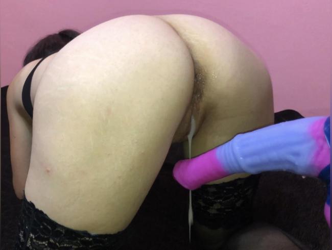 Video Thumbnail Von Dildo Doggy Style Creampied bekommen