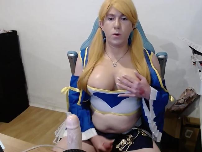 Video Thumbnail Lucy Heartfilia wichst vor der Cam
