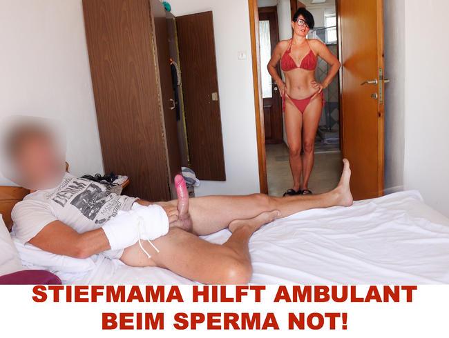 Video Thumbnail STIEFMAMA HILFT AMBULANT BEIM SPERMA NOT!
