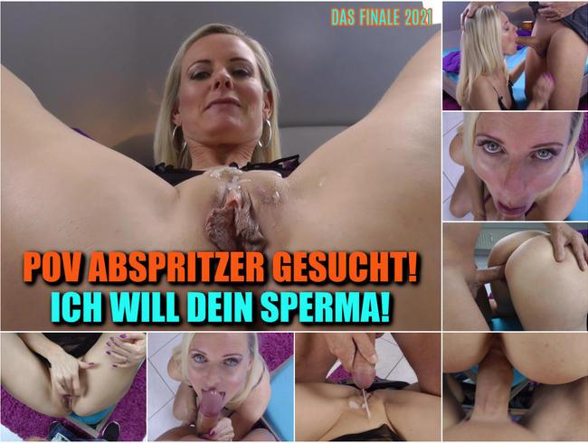 Video Thumbnail POV ABSPRITZER GESUCHT! Ich will dein Sperma!