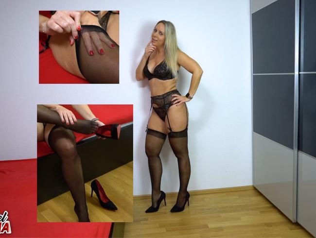 Video Thumbnail Feuchter Orgasmus danach Striptease rückwärts