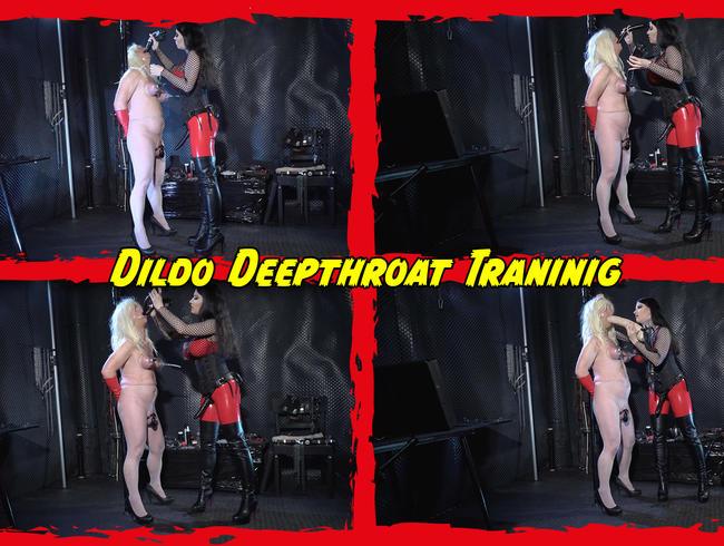 Video Thumbnail Dildo Deepthroat Traninig