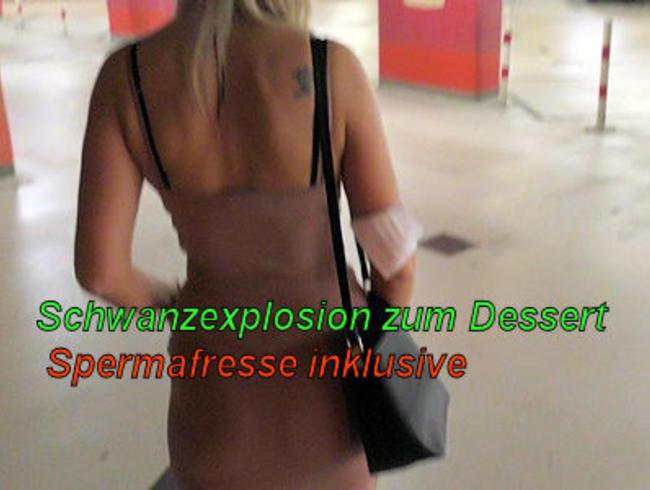 Video Thumbnail Schwanzexplosion als Dessert I Spermafresse inklusive