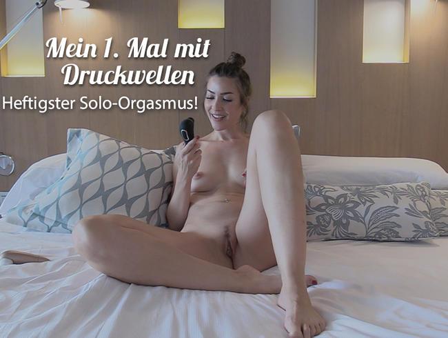 Video Thumbnail OMG HEFTIGSTER SOLO-ORGASMUS! Mein 1. Mal mit Druckwellen!