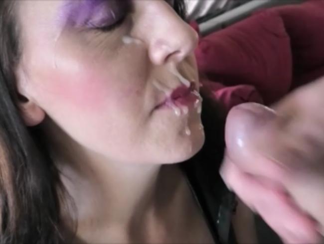 Video Thumbnail Spermaladung ins Gesicht