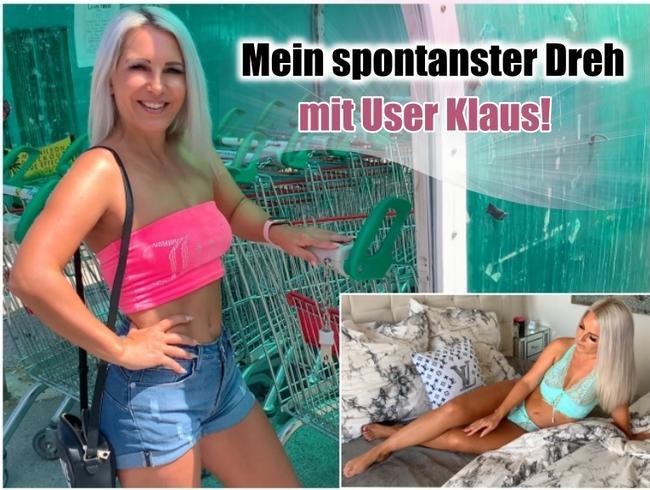 Video Thumbnail Mein spontanster Dreh mit User Klaus!