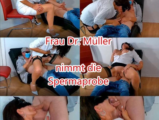 Video Thumbnail Frau Dr. Müller nimmt die Spermaprobe