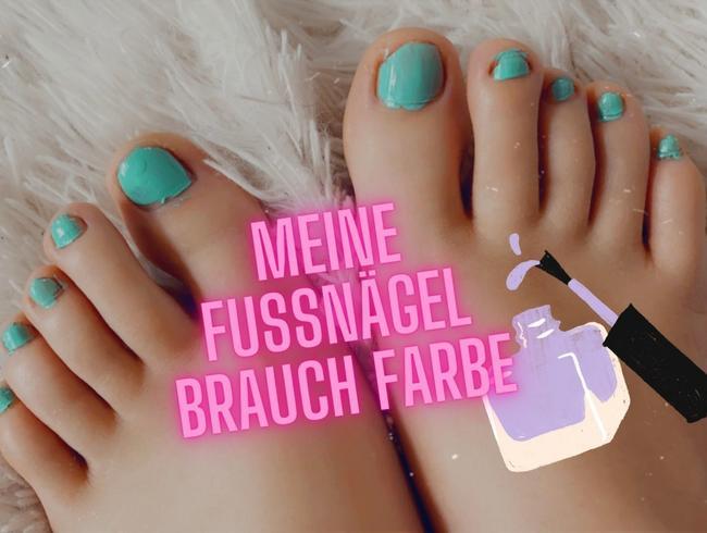 Video Thumbnail Pediküre - meine Nägel brauchen Farbe